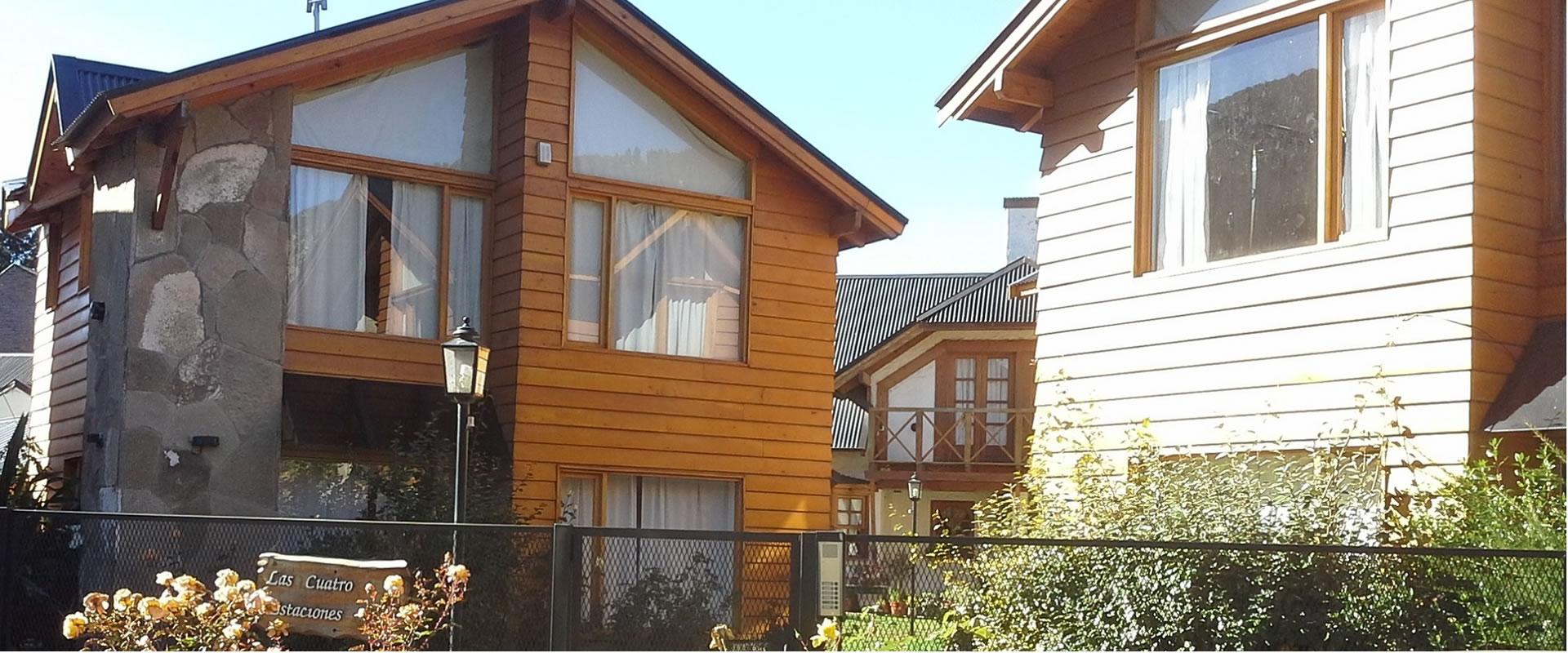 cabañas Cuatro Estaciones ubicadas en San Martín de los Andes